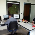 Parte del equipo promotor de Aleutos en el Vivero de Empresas de la Fundación CEL - Iniciativas por Lugo.